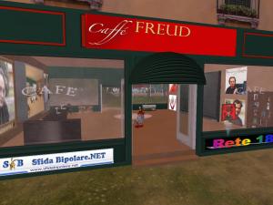 Città Libera e Caffè Freud, a Enclave, in Second Life
